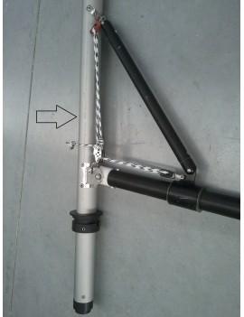 Bas de mat accastillé Twiner Aluminium