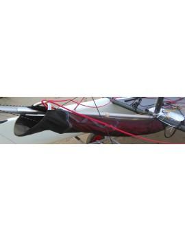 Chaussette avaleur de spi catamaran 14-15 pieds - Blanche